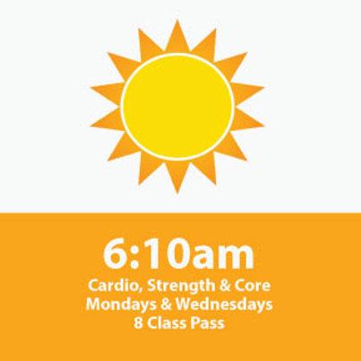 8 Class Pass: High Intensity Cardio, Strength & Core