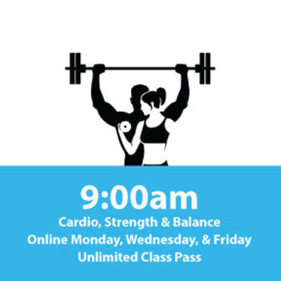 Unlimited Class Pass: Cardio, Strength Balance Online