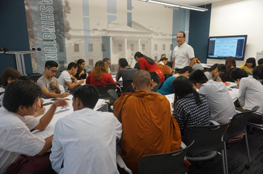 Leadership training for the US Embassy