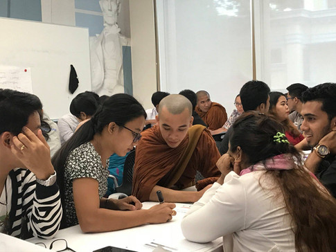 Creative Problem-Solving training for the US Embassy