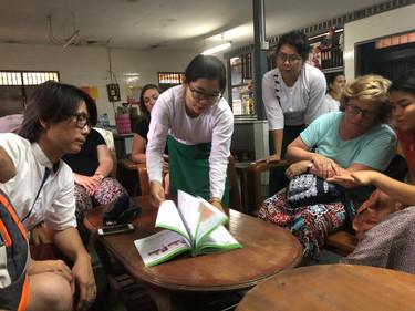 Teacher support at a monastery school