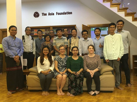 Budgetary process training for the Asia Foundation