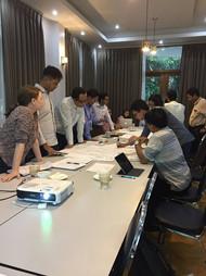 Budgetary Process training integrating creative process
