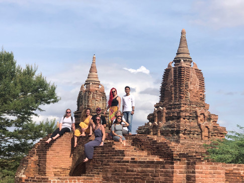 Group Photo in Bagan
