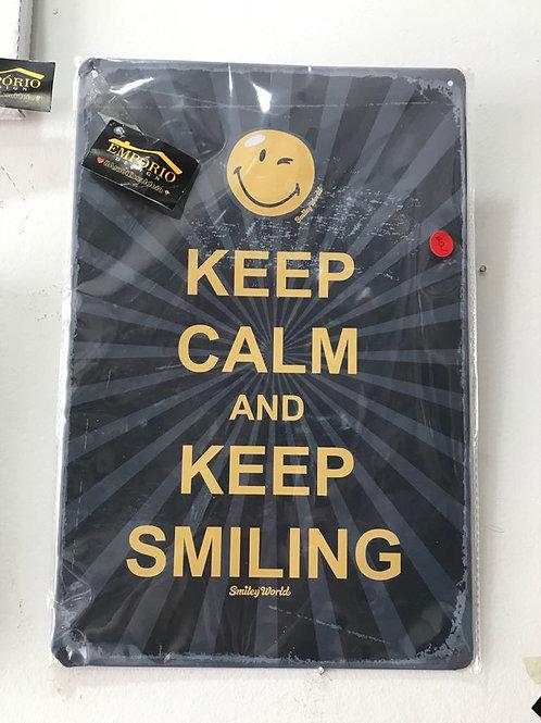 Placa sorria