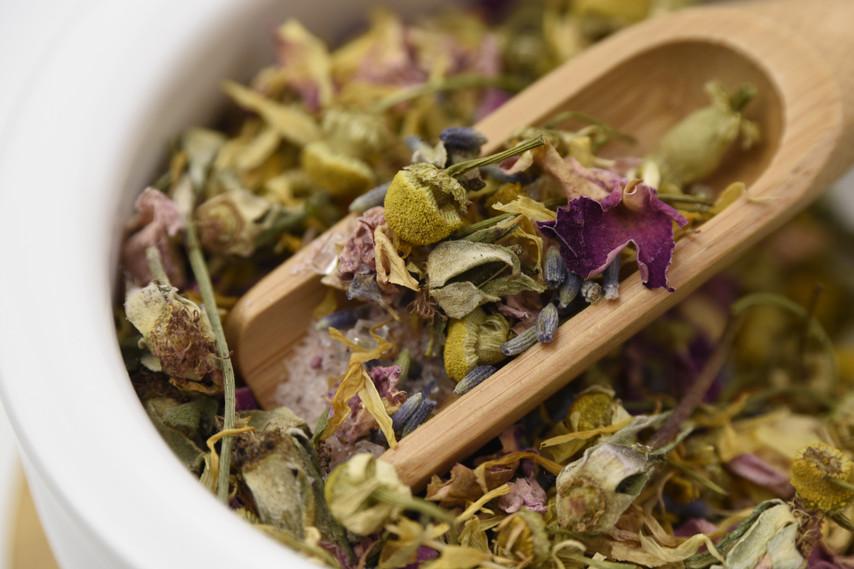 Stress Relief Bath Tea