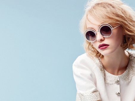 Lily-Rose Depp as the face of Chanel in new Eyewear Campaign