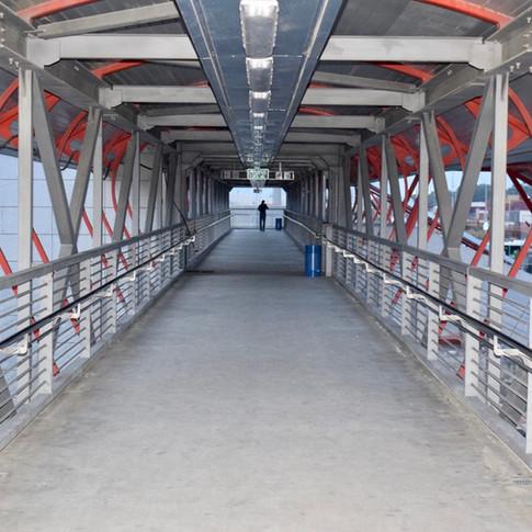 מרכזית לב המפרץ גשר לרציפי הרכב