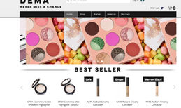 Dema. Boutique An e-commerce platform for selling international c...