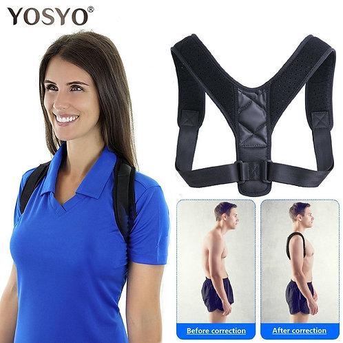 Brace Support Belt Adjustable Back Posture Corrector Spine Back Shoulder