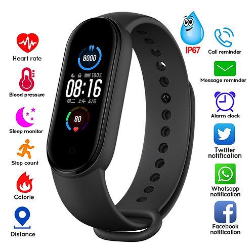 M5 Smart Band Fitness Tracker Health Wristband