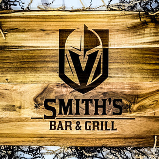 Personalized Golden Knights Cutting Board