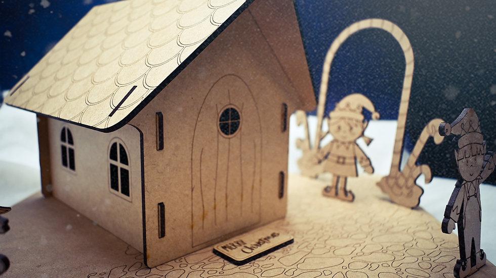 Gingerbread House DIY Kit