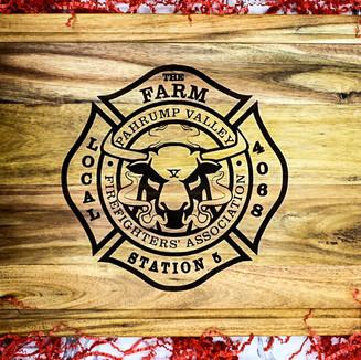 Pahrump, NV Fire Station 5 Cutting Board