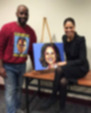 RIT JLS ART, Johnnie Lee Smith, Expressions of King's Legacy 2015, portrait painting, leadership