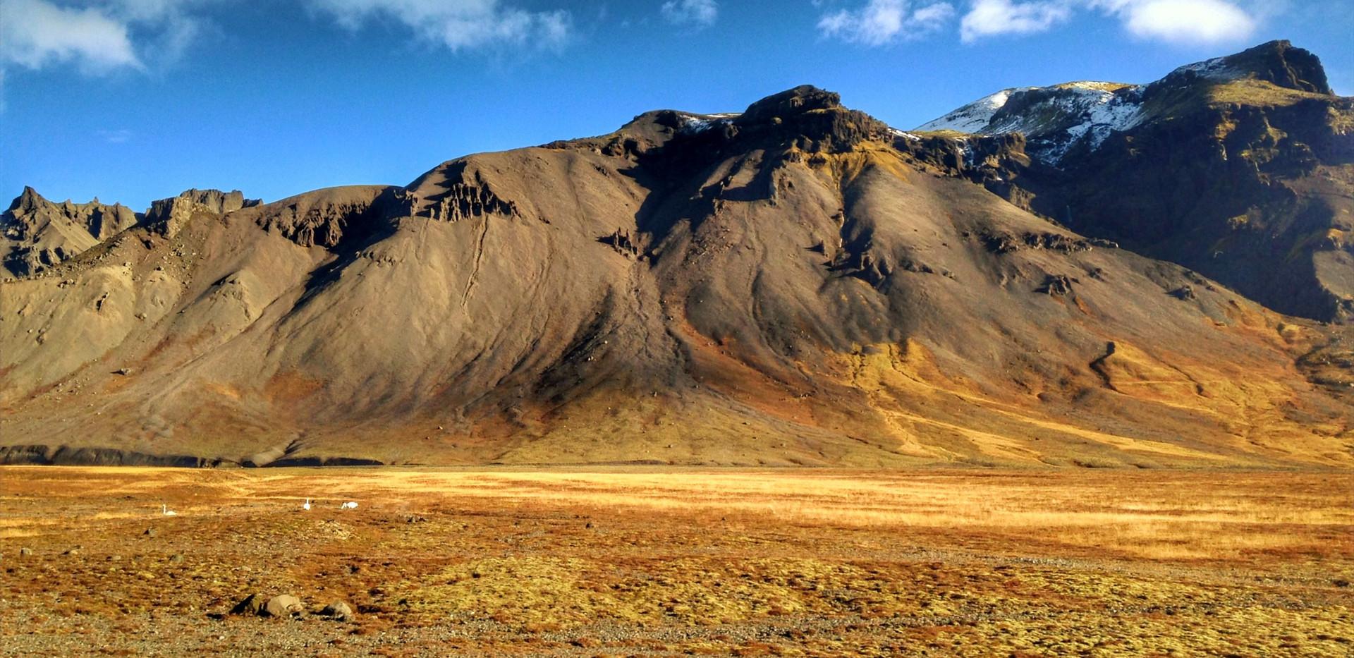 → Paysage islandais