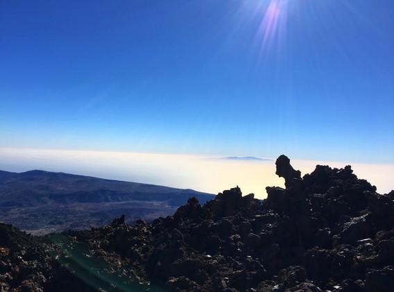 → Vue panoramique depuis Teide