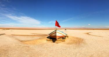 Chott El Jerid, Tunisia