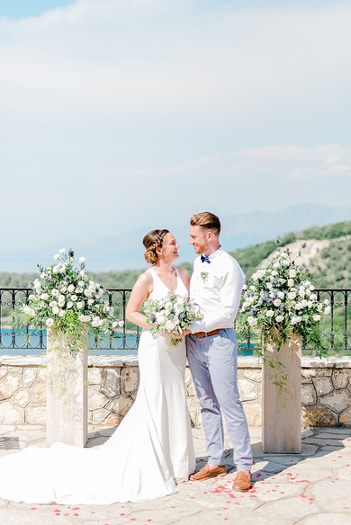 WE FELL IN LOVE WITH THIS ETHEREAL, STYLISH DESTINATION WEDDING IN GREECE