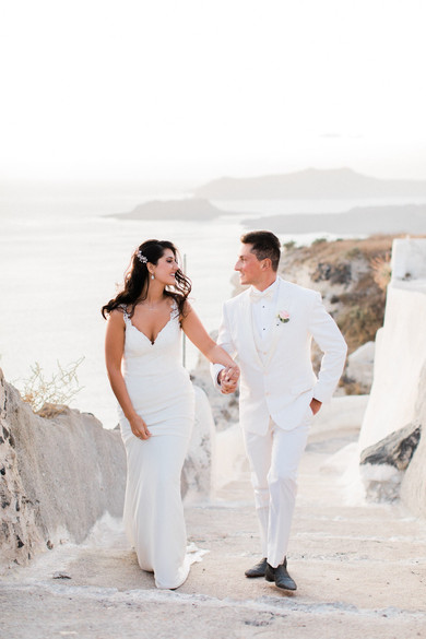 A FAIRYTALE WEDDING IN SANTORINI WE ABSOLUTELY ADORED