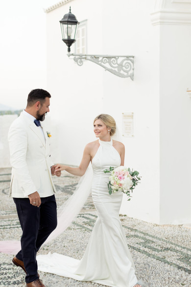 THIS CHIC, SENTIMENTAL WEDDING IN SPETSES MADE OUR HEART MELT