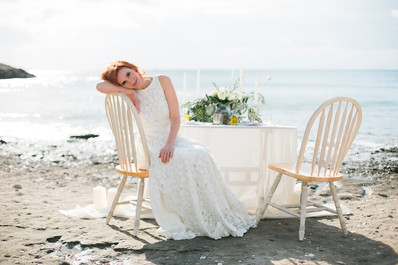 WALLOW IN THAT ELEGANT ORGANIC WEDDING, AT CAPE SOUNION GREECE