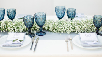 A FANTASTIC COLLECTION OF BLUE AND WHITE COMBINATIONS FOR YOUR WEDDING