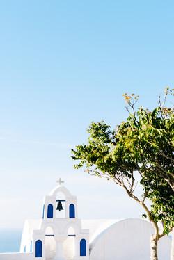 greek church wedding photo