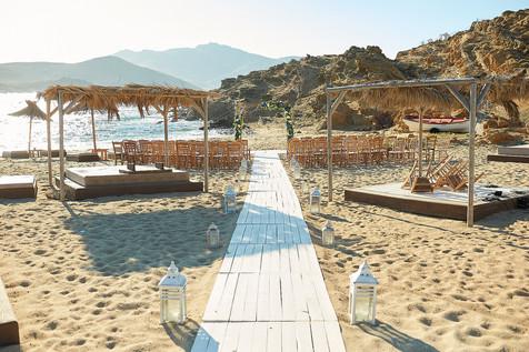DREAMY MYKONOS BEACH WEDDING