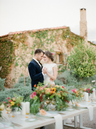 TAKE JOY IN THIS COUNTRY CHIC SPRING WEDDING AT ATHENS RIVIERA