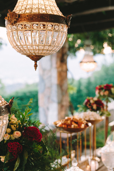 ULTRA CHIC BURGUNDY WEDDING IN ATHENS
