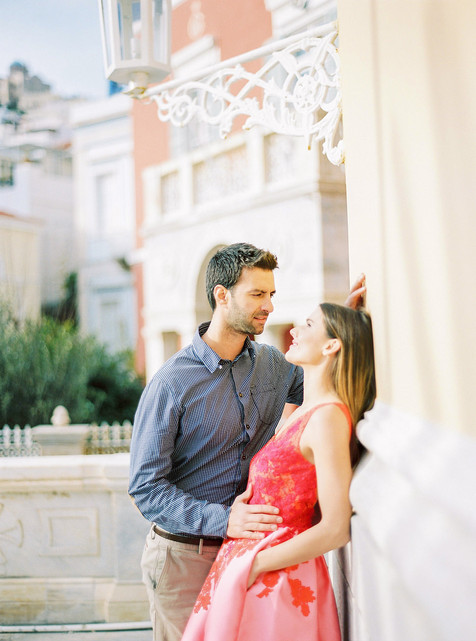 THE MOST ELEGANT ENGAGEMENT ON SYROS ISLAND