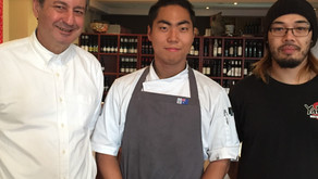 Haeseung Choi at the Elegant Mazzaro Restaurant