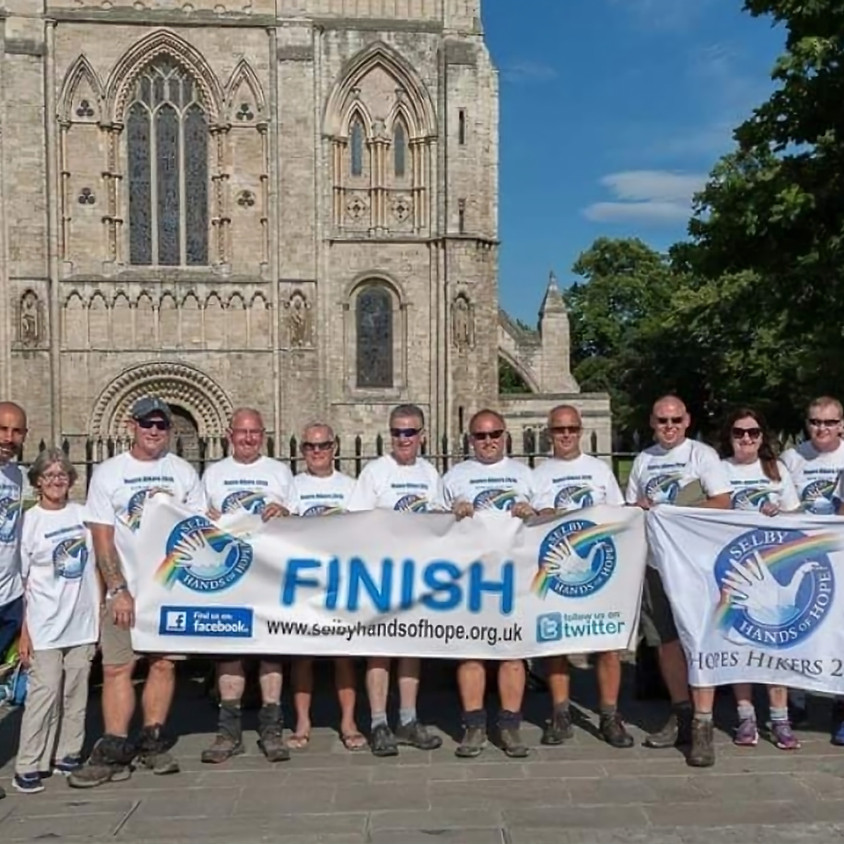 Kirkstall Abbey to Selby Abbey