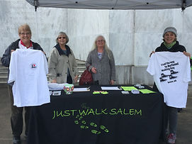 Marie Dorion members at National Walking