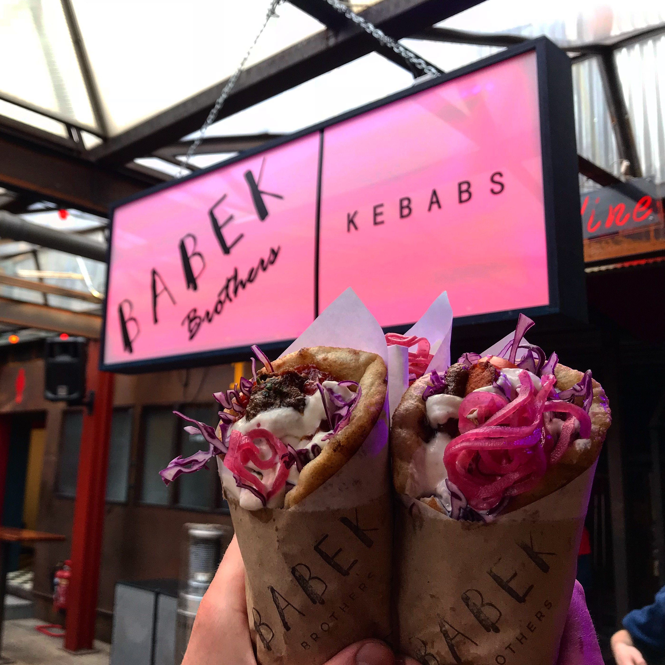 couple of kebabs