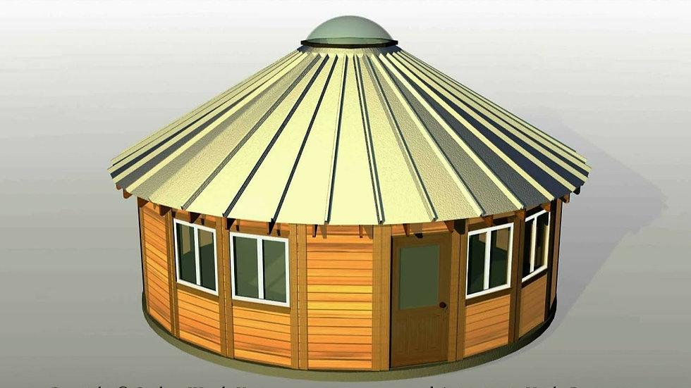Repatriation Package - 40 ft Yurt - Starting at $15K
