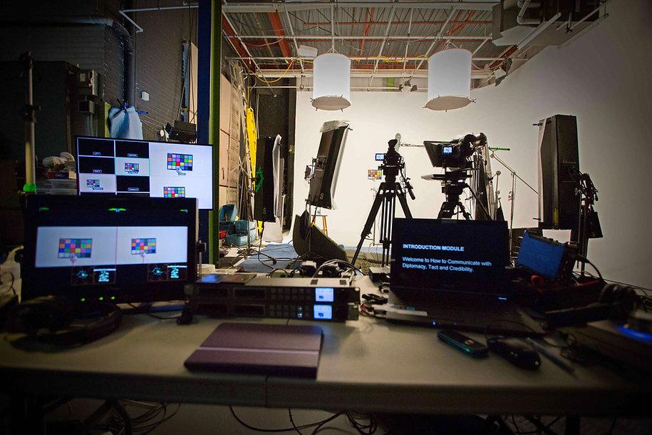 Studio rental |  Montreal video production