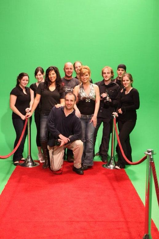 Production d'une vidéo sur green screen
