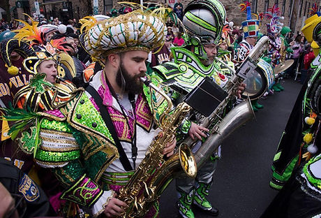 Jason Kelce with Avalon Strng Band