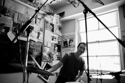 Aaron Glueckauf at BG Miami studio