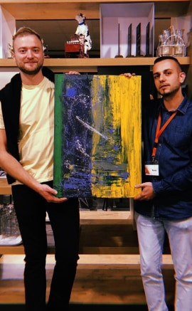 Verkauftes Gemälde 1.
