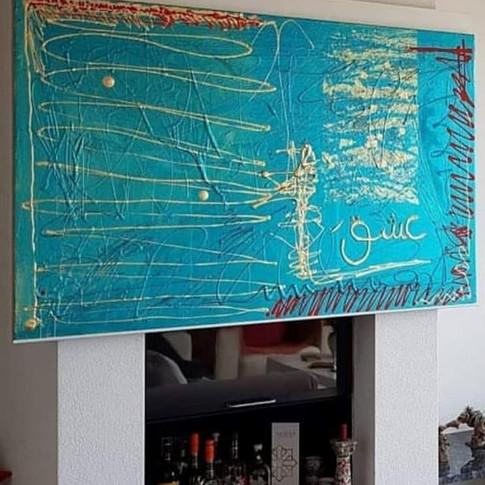 Verkauftes Gemälde 2.