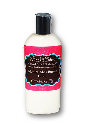 Cranberry Fig Shea Butter Lotion