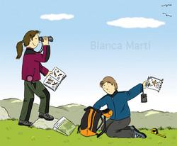 La excursión y la mochila