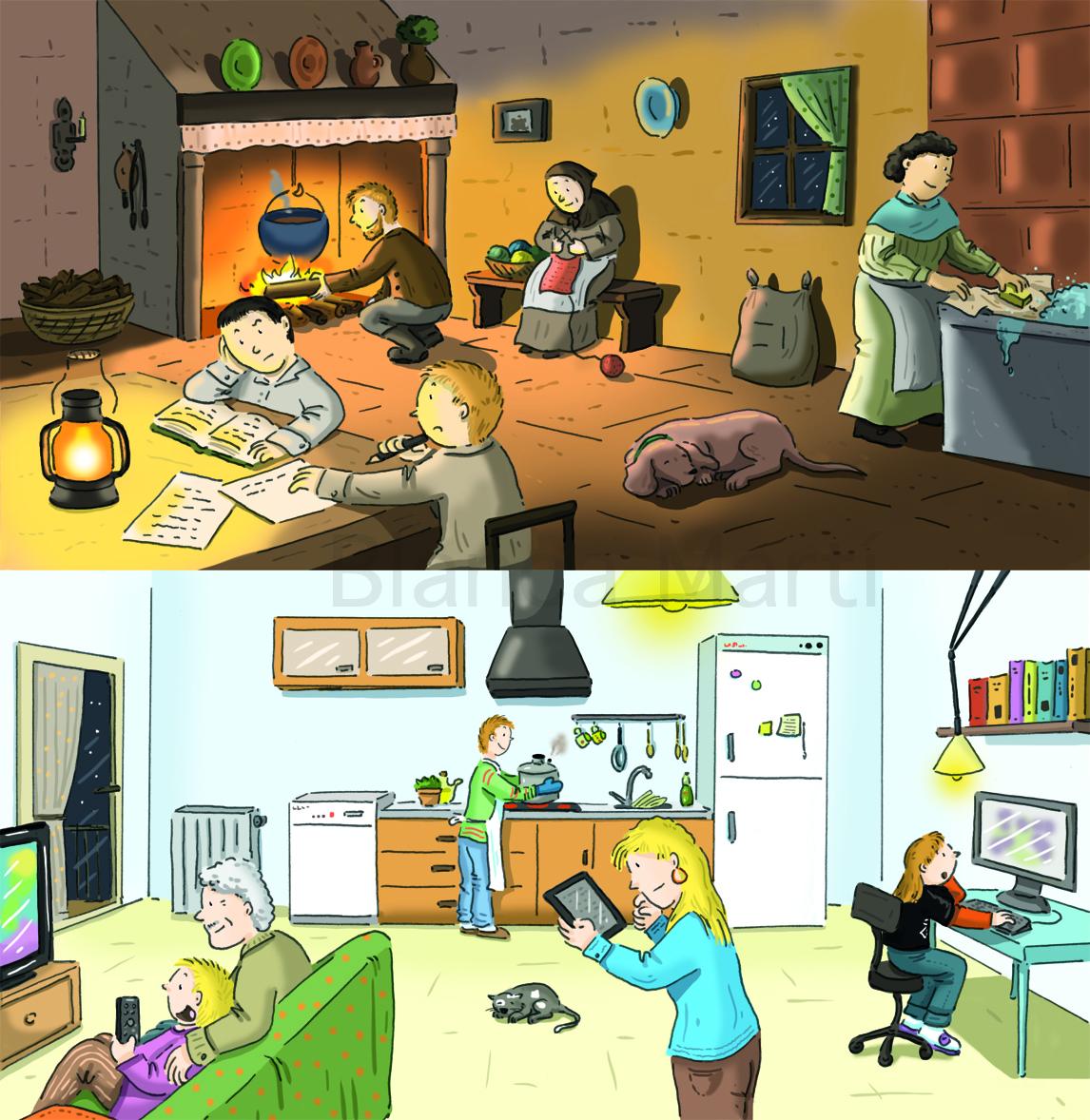 La vida en casa
