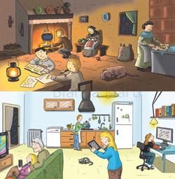 La vida a casa
