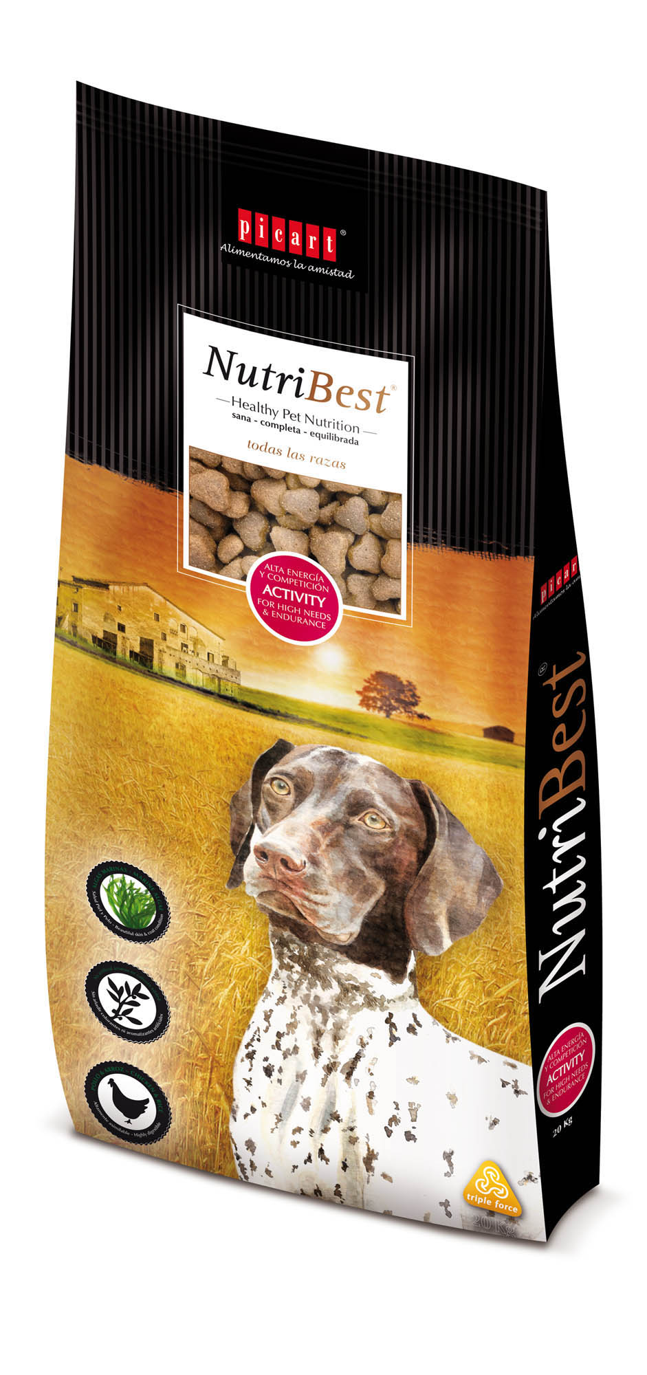 Animal feeds Nutribest by Picart