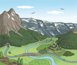 Paisatge de muntanya
