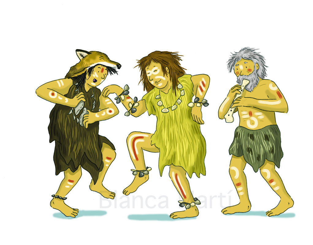 El baile en la Prehistoria
